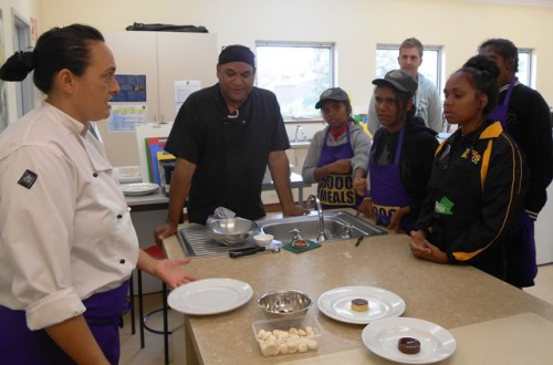 Dessert Masterclass with Chefs Shirley and Mark Olive