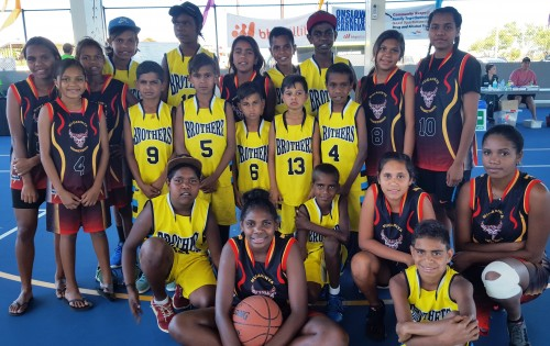 Yandeyarra Basketball Onslow teams