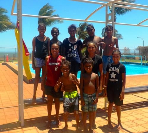 50m Freestyle team