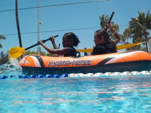 Winning the boat race