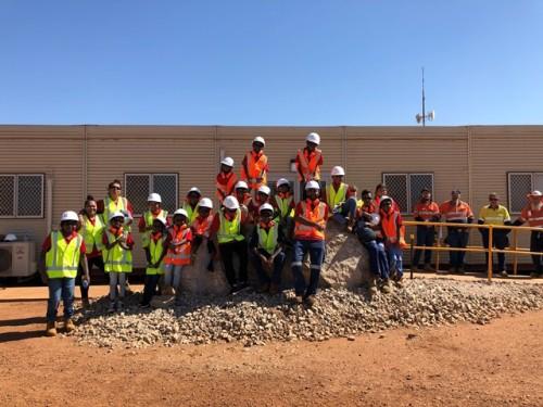 Pilbara Minerals visit